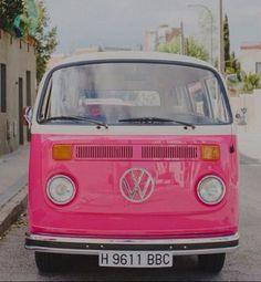 Pink road trip
