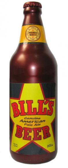 Cerveja Mistura Clássica Bill's Beer APA, estilo American Pale Ale, produzida por Mistura Clássica, Brasil. 5.5% ABV de álcool.