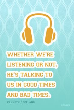 #Inspiration #HearingGod #Quote http://www.kcm.org/