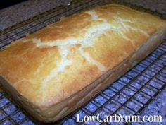 Quick Low Carb Bread Recipe - Gluten Free | Low Carb Yum