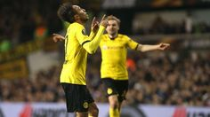 Europa League: Achtelfinal-Sieg gegen Tottenham thx to astro #snake Aubameyang again! Dortmund träumt vom Euro-Pott
