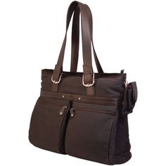 """Mobile Edge 16"""" Pc And 17"""" Macbook Eco Casual Tote (chocolate)"""
