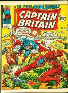 Captain Britain No.20