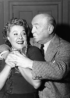 Fred & Ethel Sharing A Rare Moment of Affection - The Actors Vivian Vance & William Frawley Actually Did Not Like Each Other Very  Much.