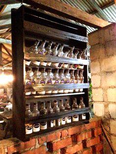 Bottles racks