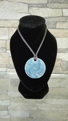 Tiffany's Dream ceramic necklace Ceramic Necklace, Ceramic Jewelry, Handmade Items, Handmade Jewelry, Boho Jewelry, Washer Necklace, Tiffany, Ship, Ceramics