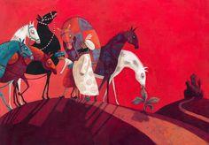Illustrations Anja Klauss Portfolio : illustration/albums/contes
