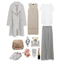 A fashion look from September 2015 featuring pink top, white top and woolen coat. Browse and shop related looks. Fall Outfits For Work, Back To Work, Bobbi Brown, September, Zara, Fashion Looks, Gucci, Adidas, Cosmetics