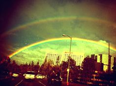 rainbow - Photo taken and edited by Talia Kennedy