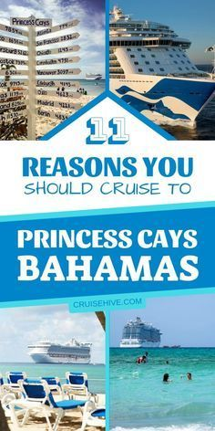 tips and reasons for cruising to Princess Cays, a private travel destination by Princess Cruises in the Bahamas.Cruise tips and reasons for cruising to Princess Cays, a private travel destination by Princess Cruises in the Bahamas. Bahamas Honeymoon, Bahamas Vacation, Bahamas Cruise, Cruise Port, The Bahamas, Princess Cays Bahamas, Princess Cruises Caribbean, Caribbean Cruise, Royal Caribbean