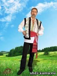 Шьём молдавский национальный костюм