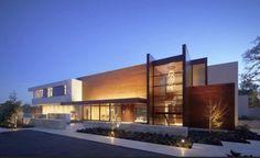 fachada casa moderna 2012, fachada casa moderna 2012 iluminada