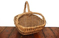 Green ash log basket - Warings Store