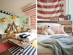 I saw this modern kid's room on Poppytalk yesterday. Now I'm normally not into themes, but WOW! This room is so great! The circus themed kid's room was designed by Kate Dixon, a photo stylist from ...