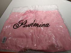 Teodora Design Women s Viscose Scarves Set of 2 Pink/Cream $30 Value