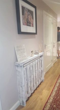 Small Handmade Pallet Radiator Covers Made to Order