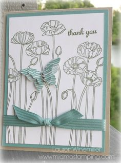 Pleasant Poppies Lost Lagoon - Stampin' Connection