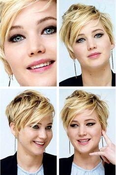 Cool Choppy Haircut. Would I go this short???? Hmmmm