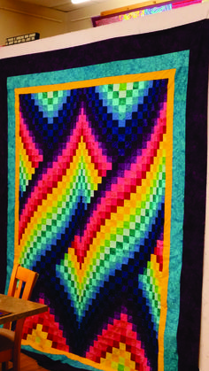This is my first advanced bargello. I love it!!