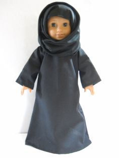 """Fits 18"""" American Girl doll Arabian Muslim dress clothes A (COSTUME ONLY)"""