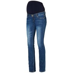 27b40048e4611 Mamalicious Frey Bootcut Maternity Jeans, Blue at John Lewis & Partners