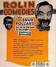 Snub Pollard - 1920 advert