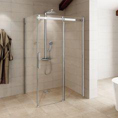 Aquafloe™ Elite ll 8mm 1000 x 800 Sliding Door Shower Enclosure
