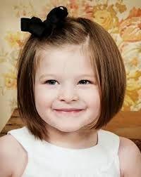 Resultado de imagen para peinados para niñas cabello corto