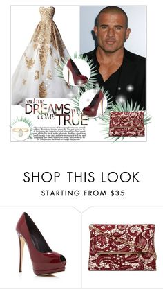 """""""Celebrity Crush: Dominic Purcell"""" by you-were-infinite ❤ liked on Polyvore featuring Giuseppe Zanotti, Dorothy Perkins, Agave, gown, Actor and crush"""
