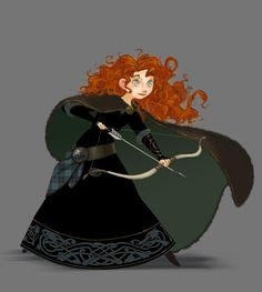 Brave Character Concept Art