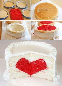 Торт Сердце, Свадебный торт, торт для влюбленных