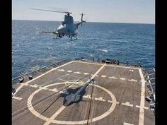 MQ-8 Fire Scout UAV On USS McInerney in the Eastern Pacific. Super awesome video. Nice and clear and impressive. Wanting...