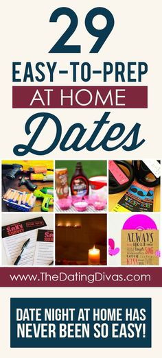 Definitely using these ideas for our next date night! www.TheDatingDivas.com