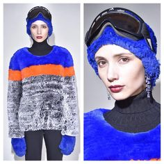 More genius looks from @helen_yarmak ❄️ #fur #ski #fashion #helenyarmak #nyfw #furinsider #thefurinsider #style #trends #chic #design #streetstyle #runway #collection #presentation #blog #blogger #fashionblog #streetstyle #nyc