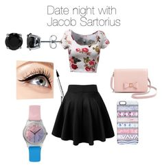 """Date night with Jacob Sartorius"" by kenna1905 ❤ liked on Polyvore featuring Ted Baker, Casetify, BERRICLE, Luminess Air, May28th, women's clothing, women, female, woman and misses"
