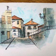 Watercolorist: @__o.niks__ #waterblog #акварель #aquarelle #painting #drawing #art #artist #artwork #painting #illustration #watercolor #aquarela