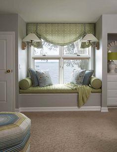 Peter Pan Inspired Nursery Design - Great Window Seat by LiLu Interiors - Room Design Bedroom, Room Ideas Bedroom, Home Room Design, Home Decor Bedroom, House Design, Nursery Design, Bedroom Modern, Dream Bedroom, Küchen Design