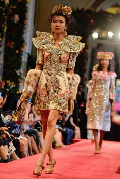 Dolce & Gabbana's First Show Out of Italy Took Place in Hong Kong