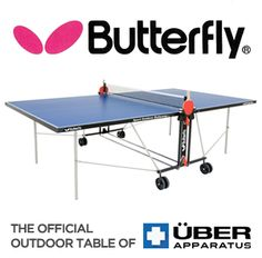 Butterfly No Doubt Makes One Of The Best Outdoor Ping Pong Table.  Lightweight But Durable