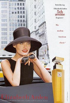 Avenue Elizabeth Arden Perfume - The Perfume Girl. Fragrances and colognes from fashion houses and perfume designers. Scent resources, perfume database, and campaign ad photos. Perfume Floral, Vintage Perfume, Elizabeth Arden Perfume, Perfume Adverts, Grace Kelly Style, Makeup Ads, Glamour Makeup, Vintage Beauty, Vintage Makeup