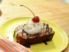 Get Katie Lee's Banana Split Ice Cream Cake Recipe from Food Network