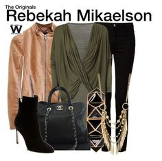 Inspired by Claire Holt as Rebekah Mikaelson on The Originals.