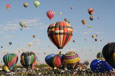 Albuquerque hot air balloon fest