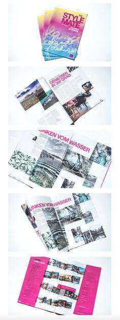 """gestaltung, layout und umsetzung von """"the stylemate – das magazin – islands of desire, issue no. 02/2016"""" für lifestylehotels Island, Editorial Design, Layout, Page Layout, Islands, Editorial Layout"""