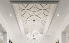 Ceiling Trim Master tray ceiling - Decorative Tray - Ideas of Decorative Tray - Ceiling Trim Master tray ceiling Ceiling Trim, Ceiling Detail, Home Ceiling, Ceiling Panels, Ceiling Decor, Modern Ceiling, Dining Room Ceiling Design, Drop Ceiling Tiles, Diy Dining Room Table