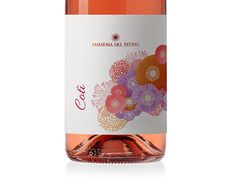 Wine Label Design, Cabernet Sauvignon, Behance, Bottle, Rose, Packaging, Pink, Flask, Roses