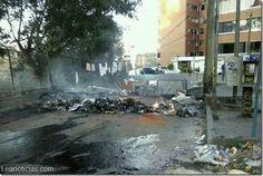 """Motorizados mirandinos """"rodaron"""" por aceite en el asfaltado - http://www.leanoticias.com/2014/03/10/motorizados-mirandinos-rodaron-por-aceite-en-el-asfaltado/"""