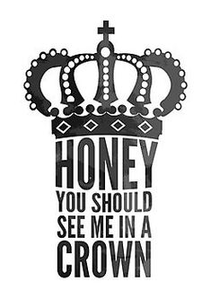 """Honey, you should see me in a crown"" - Jim Moriarty. Print via Redbubble. BBC Sherlock!"