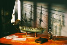 Classic Ship scale model by gmlabartandsounds