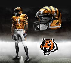 #1: Whet Bengals outfit!This look looks serious and would change the mindset of our fans and team to a more dynamic, complete monster. I say go for it.